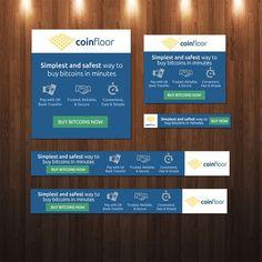 Bitcoin Exchange Platform Banner Advertisement by charlim888