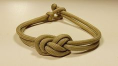 """""""How You Can Make An Elegant Infinity Knot Paracord Bracelet"""" WhyKnot"""
