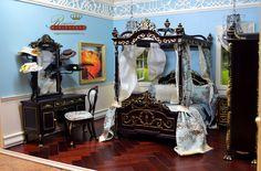 Regent Miniatures 1:6 Suite This is 1:6 bedroom and bathroom suite