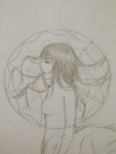 Myth / lore: Joro-Gumo (spider woman)