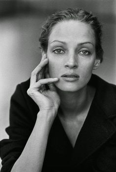 Uma Thurman Photo: Peter Lindbergh