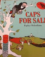 Caps for sale a classic children's book that is worth reading!  Have some silly fun and a game of monkey see monkey do with your little ones today!  Be INSPIRED and read to your children!