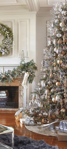 Beautiful Metallic Christmas Tree | www.earthgear.com