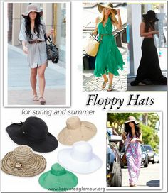 white floppy summer hat outfit - Google Search