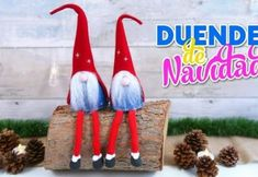 Crafts for Xmas decoration DIY, how to make Santa Claus elves- Christmas ornaments DIY Christmas Gnome, Diy Christmas Ornaments, Santa Claus Elves, Diy Fluffy Slime, Unicorn Crafts, Diy Wedding Flowers, Xmas Decorations, Crafts To Do, Gnomes