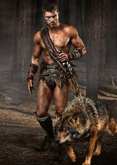 Spartacus characters and their daemons.