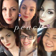 #LipSense long-wearing color shown on women with various skin tones. #LipServiceByLaura Distributor ID #204829 #Senegence #makeup