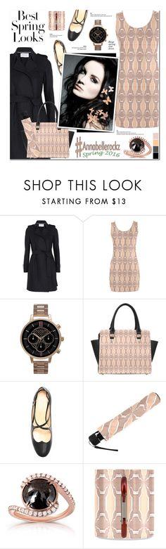 """Spring Fashion"" by anyasdesigns ❤ liked on Polyvore featuring Harris Wharf London, Olivia Burton, Camilla Elphick, Kobelli and H&M"