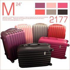 スーツケース キャリーバッグ [2177]超軽量 24インチ キャリーケース  旅行かばん  旅行バック 激安 4輪 ABS 人気 Mサイズ
