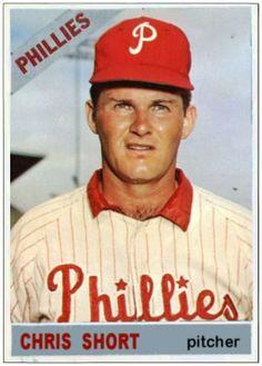 Baseball Cards That Never Were: 1966 Topps Chris Short, Philadelphia Phillies