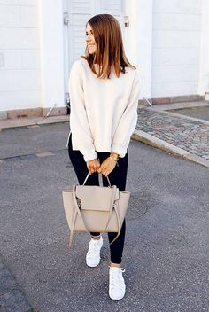 bca794c5a 112 Women s White Sneakers Outfit Idea