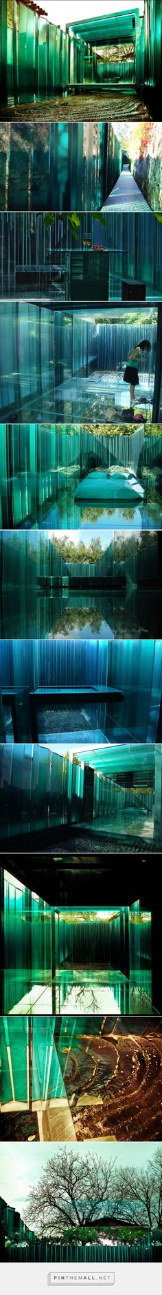 Amazing Glass Hotel: Les Cols Pavellons - Olot, Spain | DesignRulz... - a grouped images picture - Pin Them All