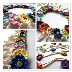 Made in Ktown made a beautiful flower garden to show off the colors in her stash!