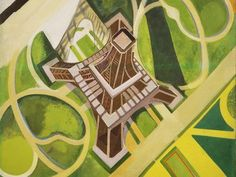 """Shop for Epic Graffiti """"La Tour Eiffel et Jardin du Champ de Mars"""" by Robert Delaunay Giclee Canvas Wall Art. Get free delivery On EVERYTHING* Overstock - Your Online Art Gallery Store! Sonia Delaunay, Robert Delaunay, Caravaggio, Eiffel Tower Art, Eiffel Towers, Graffiti, Hirshhorn Museum, Franz Marc, Art Moderne"""