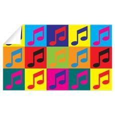 Orchestra Pop Art Wall Decal