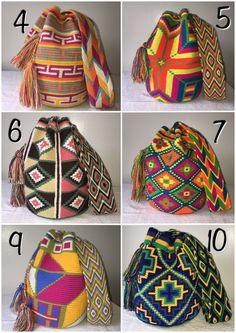 Mochilas Wayuu Indigenous Shoulder Crossbody Chila Bags Boho Bohemian   eBay