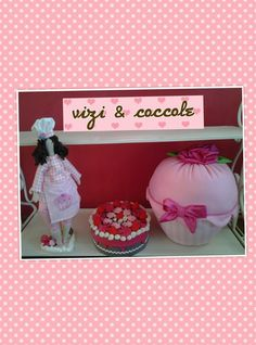LA VIE EN ROSE: Cuscino poggiapiedi Cupcake large!!!