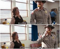 when hopper is me with any given task or responsibility. Stranger Things 1.01