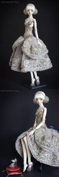 enchanted doll cinderella