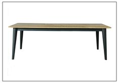 MAB-LFTDT012 Large Fixed Top Dining Table 2600mm x 1050mm x 790mm High