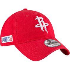 Men s New Era Red Houston Rockets 2018 NBA Playoffs 9TWENTY Adjustable Hat  Nba Houston Rockets d1606810472