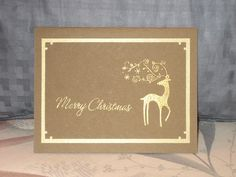 Merry Christmas Dasher 2009 by SawyerBean - Cards and Paper Crafts at Splitcoaststampers