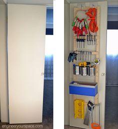 DIY Over the Door Hooks for Extra Storage