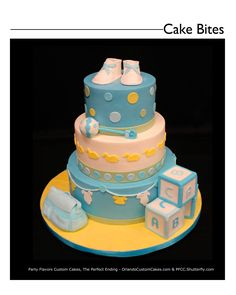Here comes the Baby! Don't forget your shower cake! Custom Baby shower cake in buttercream and fondant accents @KD Eustaquio Vargas
