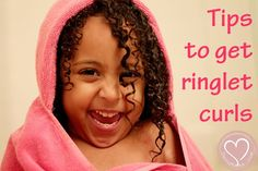 Mixed Hair Care: Tips for Toddler's Ringlet Curls - De Su Mama