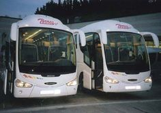 Luxury coaches in Spain