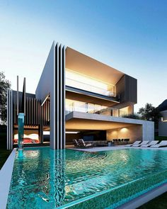 Rear Facade, Villa On Process... By Creato