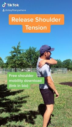 Focus on scapula mobility to help improve shoulder joint pain. #mobilityexercises #shoulder #mobility #strengtheningexercises #flexibilityexercises #movebetter #exercisefitness #exercisetips #fitnesstips #fitnesslife #healthylife #painfreeliving #onlinecoaching #stayfitanywhere Neck And Shoulder Exercises, Back And Shoulder Workout, Neck And Shoulder Pain, Neck Pain, Yoga Shoulder, Shoulder Joint, Scapula Exercises, Back Exercises, Neck Stretches