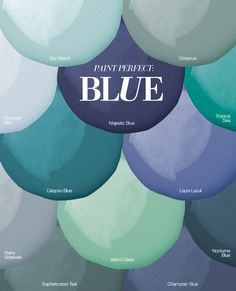 PAINT PERFECT: OUR FAVORITE BLUE SWATCHES