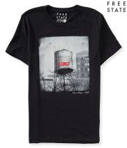Free State Brooklyn Water Tower Graphic T - Aéropostale®