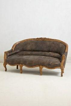 Amelie Leather Sofa