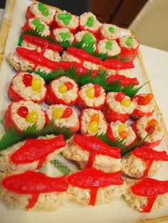 Candy sushi! I'm making this for my pregnant friend who can't have sushi right now :)