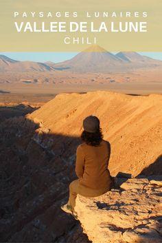 Vallée de la Lune et vallée de la mort dans le nord du Chili