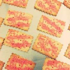 Icing cookies from #maisongermain #nantes #france
