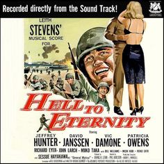 """""""Hell To Eternity"""" (1960, Warwick).  Music from the movie soundtrack."""