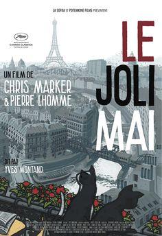 Le Joli Mai est un film documentaire français de Chris Marker et Pierre Lhomme, sorti en 1963. Un mois dans une ville, mai 1962, Paris filmé au plus près du pavé et des visages par Chris Marker et son équipe. « En ce premier mois de paix depuis sept ans », car la guerre d'Algérie s'achève avec les accords d'Évian, que font, à quoi pensent les Parisiens ? La guerre et la politique ? On évite d'en parler, l'interviewer s'en étonne même : les Français qui aimaient tant discuter seraient-ils…