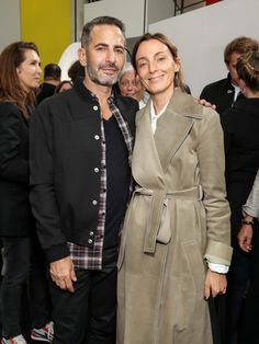 Inside the LVMH Prize Ceremony With Nicolas Ghesquière, Delphine Arnault, and Winner Grace Wales Bonner Nicolas Ghesquière, Phoebe Philo, Grace Wales Bonner, Celine, Stylish Couple, Matches Fashion, Her Style, Daily Fashion, Autumn Winter Fashion