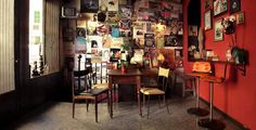 Café Antiquari* You will find a young, energetic crowd at this vintage resto-bar. Carrer Arabi, 5 in Palma.