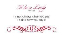 It's not always what you say. It's also how you say it.
