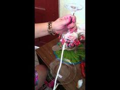 Cascata de rosas - YouTube Floating Tea Cup, Floating Garden, Diy Wedding Ring, Deco Pastel, Teacup Crafts, Rose Centerpieces, Light Crafts, Diy On A Budget, Artisanal