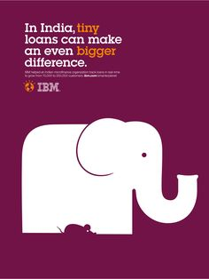 Noma Bar designed a set of posters for IBM's smarter planet campaign, featuring awesome use of negative space