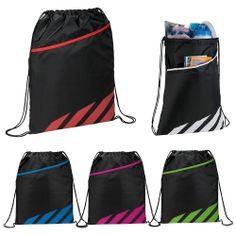 a964f4b34a3b6 Flash Drawstring Sports Pack | Staples Promotional Products Custom  Drawstring Bags, Drawstring Backpack, Swim