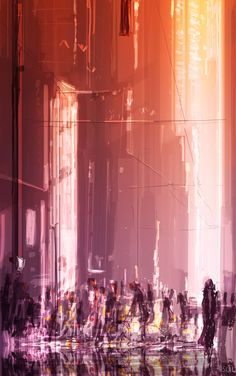 City walk by Pascal Campion.