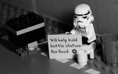 Funny Stormtrooper Lego  #starwars #stormtroopers #lego