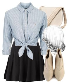 """""""Lydia Inspired Outfit"""" by veterization ❤ liked on Polyvore featuring H&M and Topshop"""