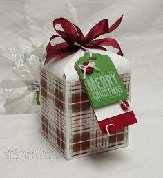 Stamp & Create With Sabrina: Envelope Punch Board Tall Gift Box